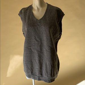 American apparel sweater vest L